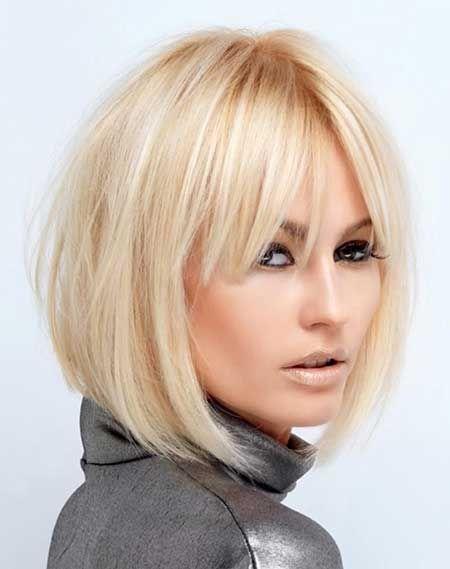 Short Hairstyles with Bangs | Projekty do wypróbowania | Pinterest