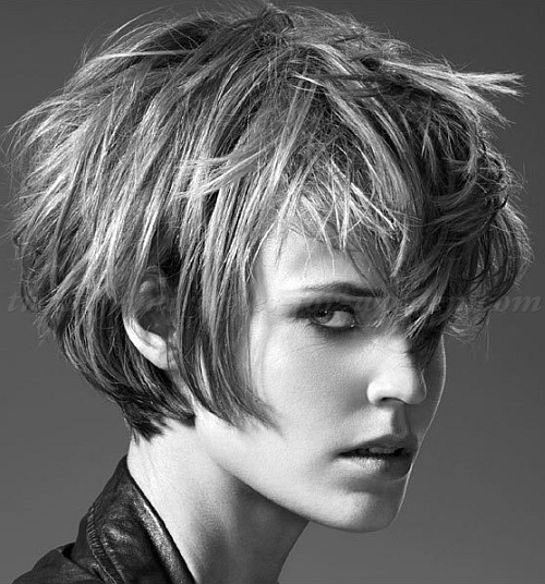 45 Short and Messy Hairstyles for Women's - Short Haircut Z