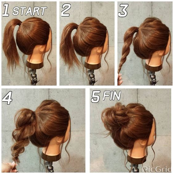 Super Easy Messy Bun in 5 Simple Steps | Makeup Mania | Beauty in
