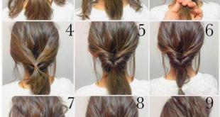 Updo u2013 As Easy As It Gets (YouBlush) | Hairstyles | Hair, Hair