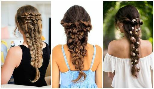 Simple Hairstyles For Girls With Short, Long & Medium Hair