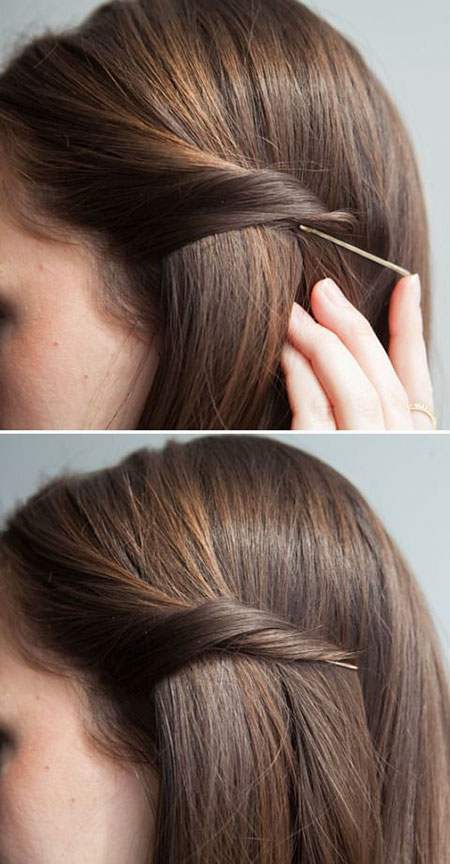 25 Simple Hairstyles for Straight Hair | Straight