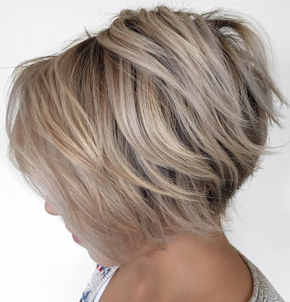 Simple Short Layered Hairstyles you should attempt – fashionarrow.com