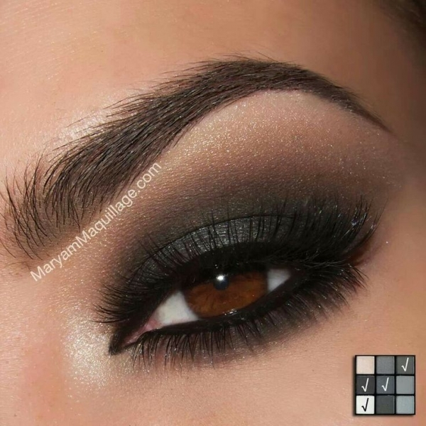 40 Hottest Smokey Eye Makeup Ideas 2019 & Smokey Eye Tutorials for