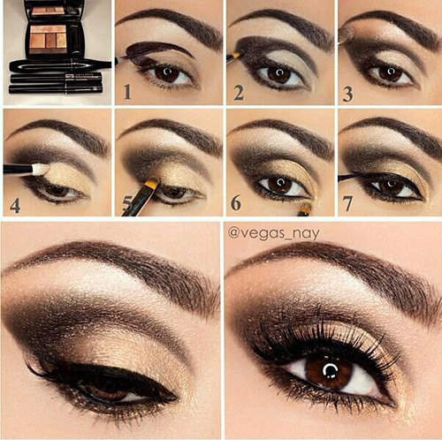 Smokey Eye Make Up That Turns Head