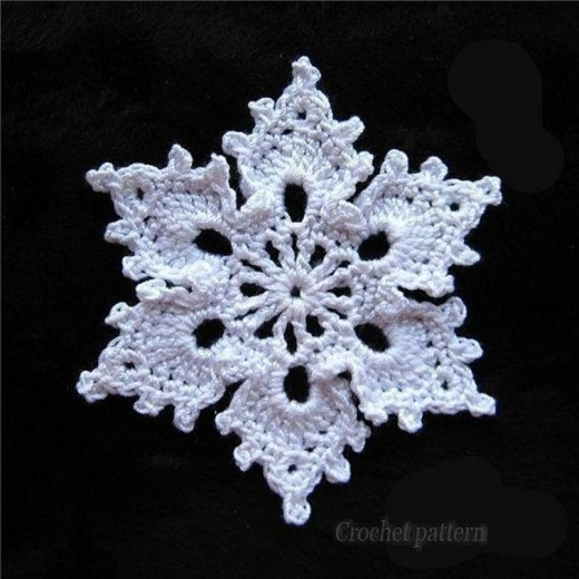Free Crochet Snowflake Patterns | FeltMagnet