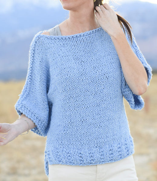 Easy Sweater Knitting Patterns- In the Loop Knitting