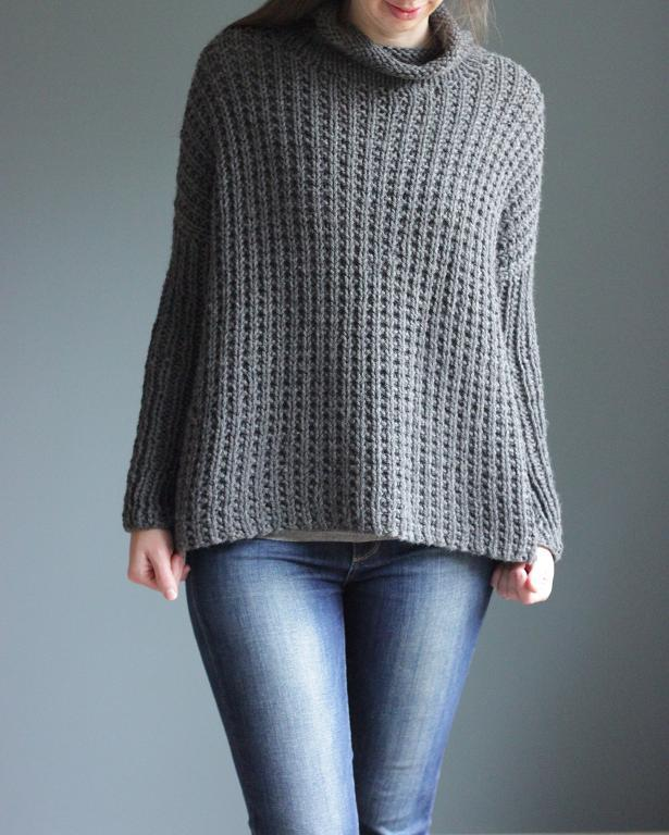 Easy-to-Wear Pullover Sweater Knitting Patterns