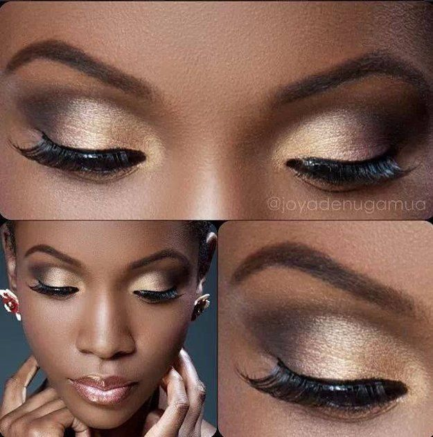 8 Eyeshadow Ideas For Black Women | Makeup Ideas: Eyes + Eyeshadow