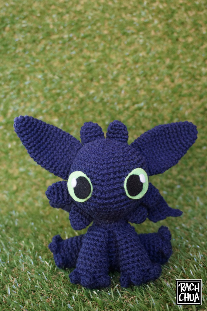 Step-By-Step Tutorial: Toothless from How To Train Your Dragon