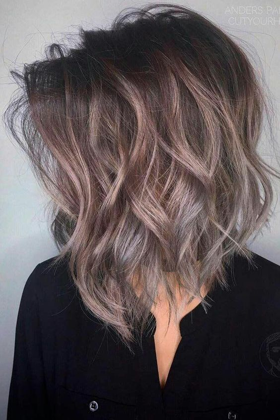10 Trendy Medium Hairstyles & Top Color Designs 2019
