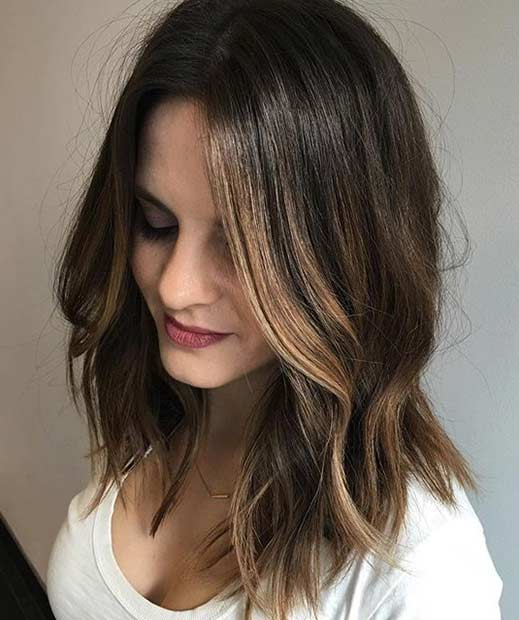 51 Cool and Trendy Medium Length Hairstyles | StayGlam