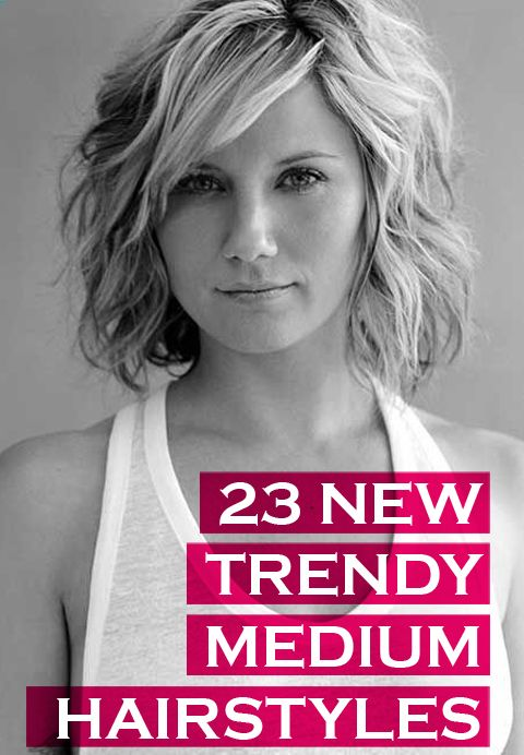 23 Trendy Medium Haircuts for Women | Hair stylin' | Pinterest