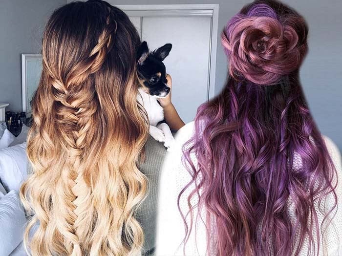 100 Trendy Long Hairstyles for Women to Try in 2017 | Fashionisers©