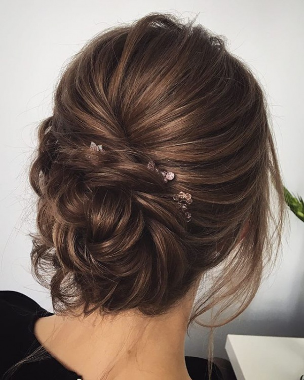 Top 10 Messy Updo Hairstyles u2014 the bohemian wedding