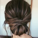 Stylish and glamorous updos for medium   length hair
