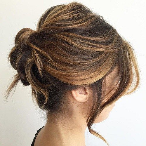 60 Trendiest Updos for Medium Length Hair in 2019 | Best of the best