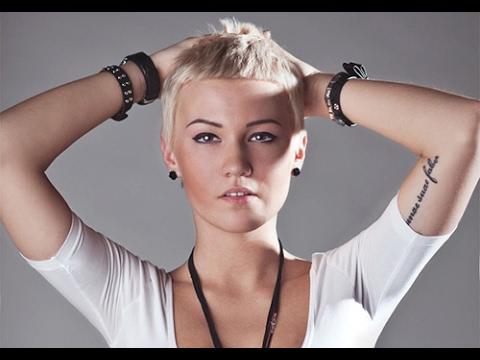 Women Very Short Hairstyles - YouTube