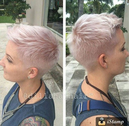 Very short hairstyles: Your trump card to   glamour