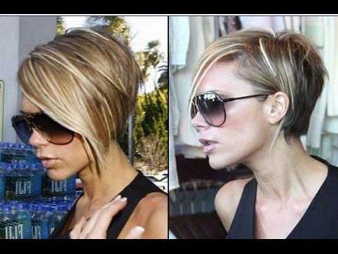 Victoria Beckham Short Bob Hairstyle - YouTube