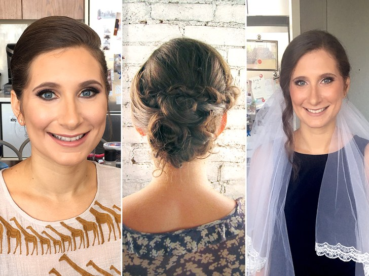 I Tried 5 Wedding Hair And Makeup Trials, And Here's What Happened