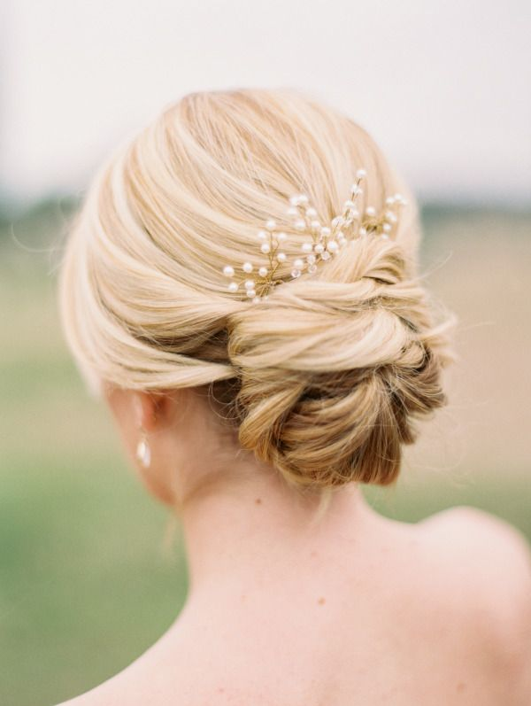 Top 20 Most Pinned Bridal Updos | The Fashionable Bride | Pinterest