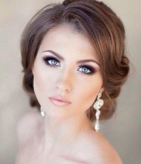 28 Neutral Wedding Makeup Ideas | HappyWedd.com