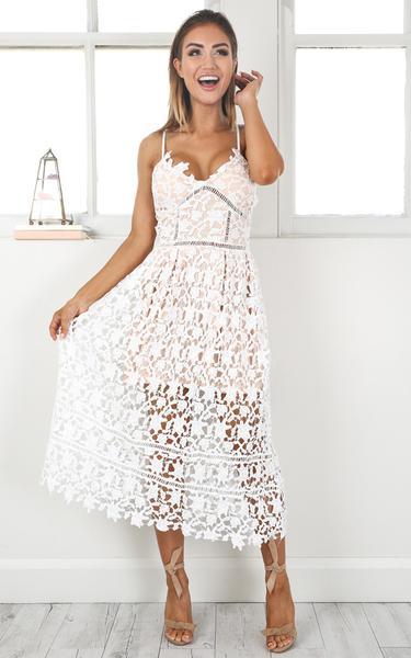 ♡ Summer White Out Lace Crochet Dress ♡ u2013 Lyfie