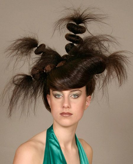 Another 13 Craziest Hairstyles - crazy hairstyle, crazy hair | Wild
