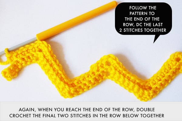 Inspiring Zig Zag Crochet Patterns