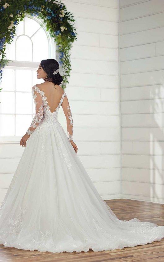 Long Sleeve Lace Ball Gown Wedding Dress | Kleinfeld Brid