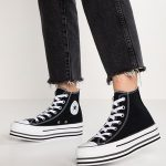 Why Black High Top Platform Converse are So Popular?