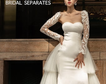 Why Do Brides Choose Detachable Sleeves for Wedding Dress
