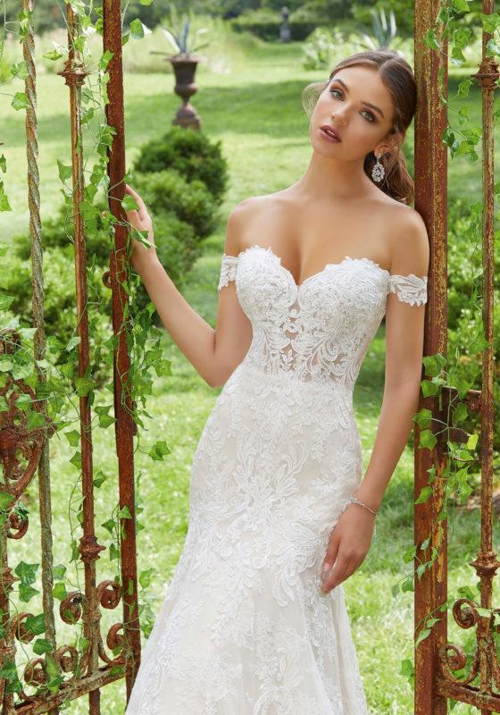 Wedding Dress Belts & Cap Sleeves | Moril