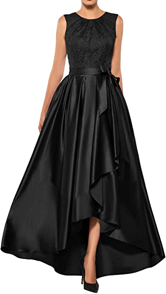 Mother of The Bride Dresses Lace High Low Formal Evening Party .