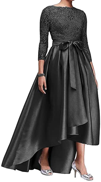 Amazon.com: High Low Mother of The Bride Dresses Lace Evening .