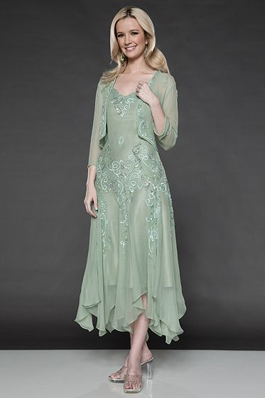Here Comes Mother of the Groom Dresses for Summer In Cool Colors