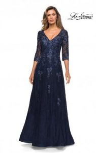 Navy Mother of the Bride Dresses and Mother of the Groom Gowns .