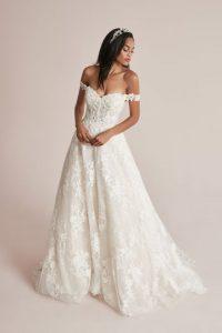 Off-the-Shoulder Wedding Dresses | Justin Alexand