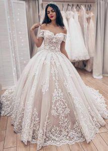 New Off-the-Shoulder Lace Bridal Wedding Dresses - #bridal .