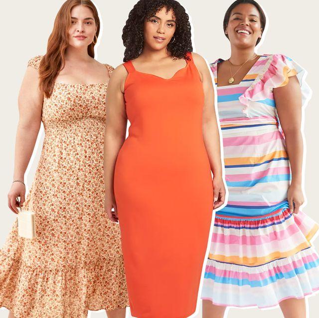 26 Flattering Plus-Size Wedding Guest Dresses for Summer 20