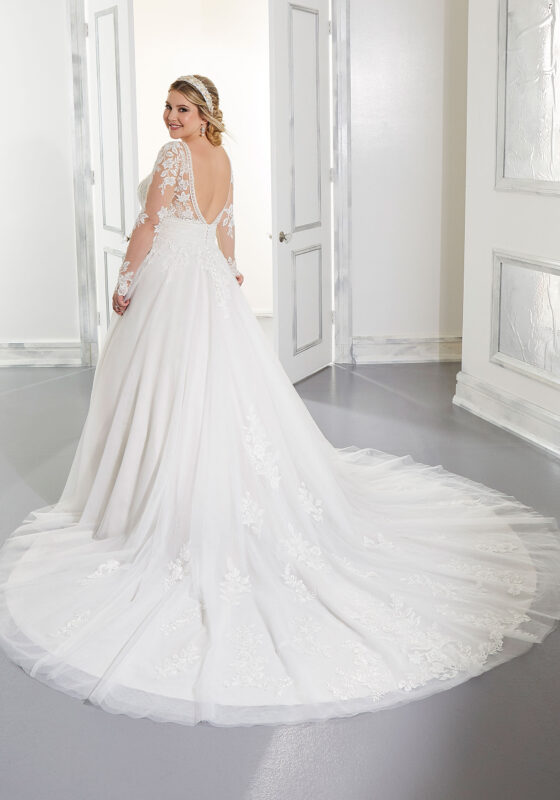Chic Plus Size Wedding Dresses with Sleeves for You
