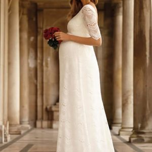 The 15 Best Maternity Wedding Dresses for Every Bridal Sty