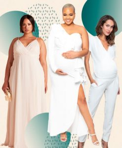 23 Maternity Wedding Dresses That Are Simply Stunni